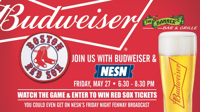 Budweiser Fan of the Game at The Banner Bar and Grille in Worcester on May 27