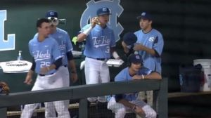North Carolina Baseball Interview Gets Real Weird Thanks To Videobombs