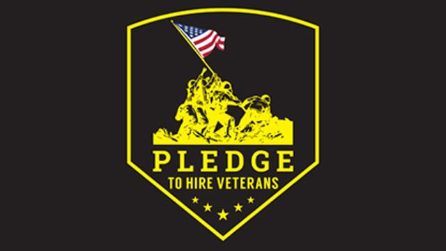 U.S. Pavement pledge to hire a veteran logo