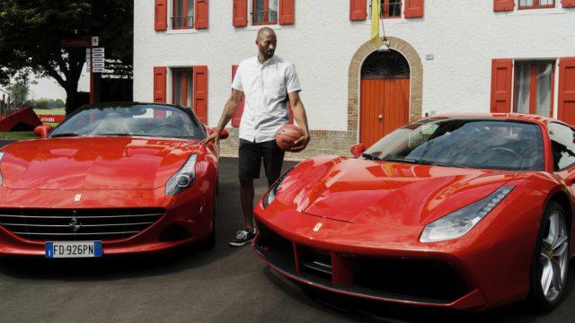 Kobe at Ferrari factory 2
