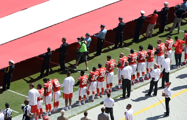 Chiefs protest