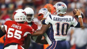 Patriots Vs. Cardinals Live: Jimmy Garoppolo, Pats Hold Off Arizona In 23-21 Thriller