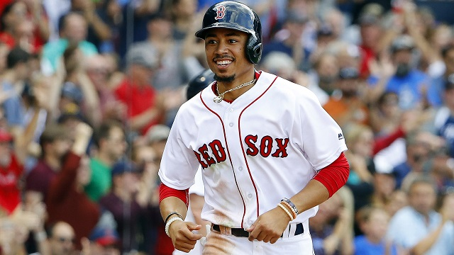 Mookie Betts Feels Blessed From All-Star Votes, Focused On World Series