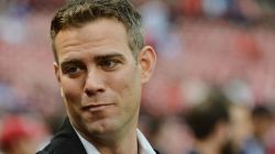 Chicago Cubs president of baseball operations Theo Epstein