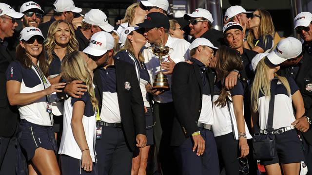 Team USA golfer Rickie Fowler