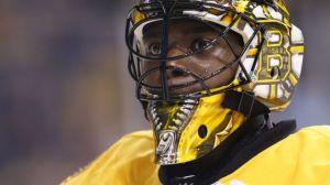 Bruins Practice Report: Anton Khudobin Hurt, Malcolm Subban Called Up