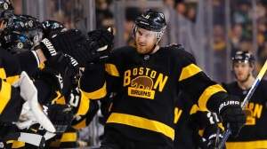 Bruins Wrap: Jimmy Hayes' First-Period Goal Holds As Boston Tips Kings 1-0