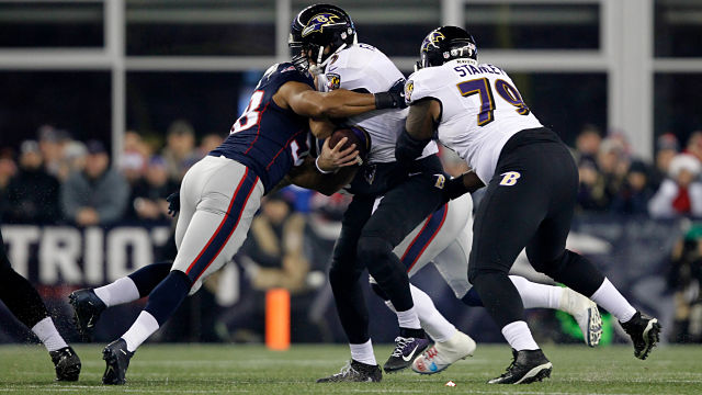 Trey Flowers, Joe Flacco