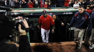 David Ortiz Hits The Red Carpet At 'Patriots Day' Movie Premiere In Boston
