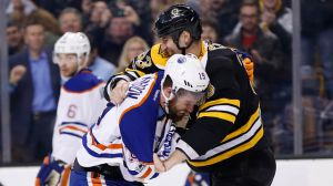 Zdeno Chara Attempts To Lift Team's Emotion Level With Fight Vs. Patrick Maroon