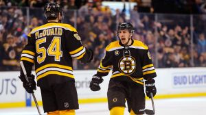 Bruins' Brad Marchand Ties Score 2-2 With Rebound Goal Vs. Penguins