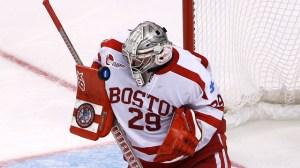 AHL Team Trolls Former Boston University Goalie With GIF Of Infamous Goal