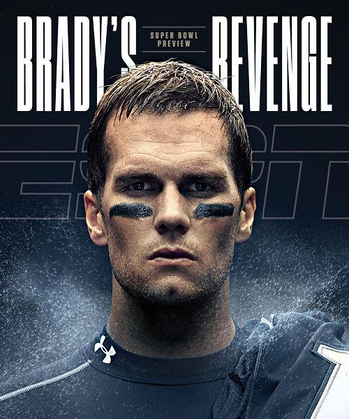 Tom Brady ESPN the Magazine cover