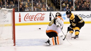Watch Brad Marchand, Torey Krug Connect For Nifty Goal In Bruins Vs. Flyers