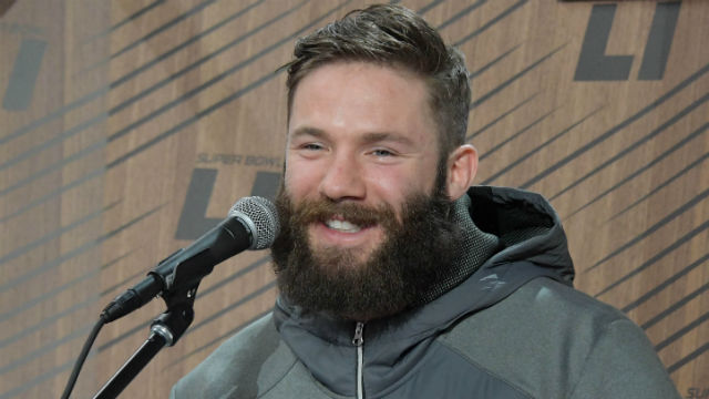 Julian Edelman Likes Look Of Beardlicious Patriots Ahead