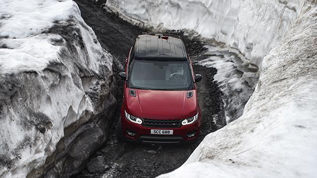 Ben Collins, Range Rover Sport