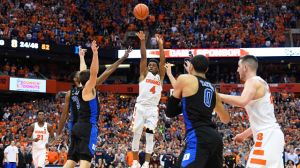 Crazy Bank Shot At Buzzer Lifts Syracuse To Stunning Win Over Duke