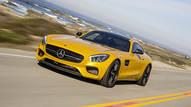 2017 Mercedes AMG GT S
