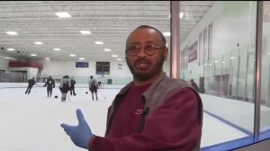 College Hockey Team Raises Over $5K For Arena Janitor To Visit Family In Ethiopia