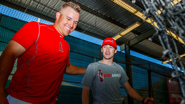 Mike Trout Ryan Blaney