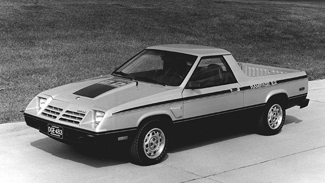 1983 Dodge Rampage 2.2