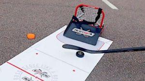 Complete A Saucer Pass Like A Pro With HockeyShot's Hockey Sauce Combo