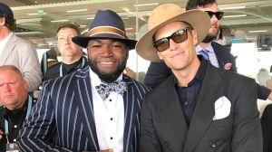 David Ortiz, Tom Brady Take In 2017 Kentucky Derby In Style