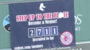Tom Caron Honored During Annual Champions Of Mentoring Event At Fenway Park