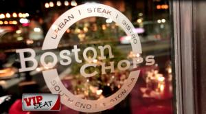 Dining Playbook: VIP Seat: Boston Chops