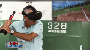 Dining Playbook: Virtual Reality Batting Cages at Fenway Park