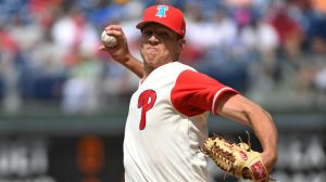 Phillies Pitcher Hilariously Tosses Most Ineffective Pickoff Attempt Ever