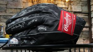 Giant Glove Signed By 38 Red Sox To Be Auctioned For Jimmy Fund