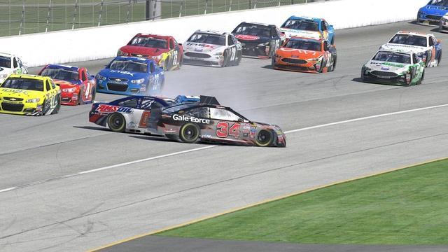 iRacing NASCAR Peak Antifreeze Series, Chicagoland Speedway
