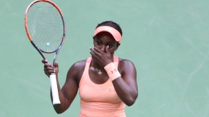 U.S. Open Winner Sloane Stephens Has Amazing Reaction When Receiving Check