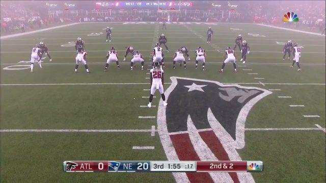 New England Patriots, Atlanta Falcons