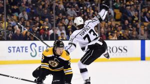 Bruins Wrap: Kings Sink Boston 2-1 With Last-Second Overtime Goal