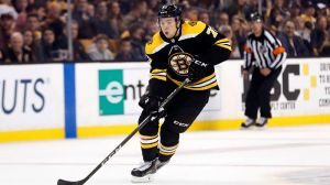 Charlie McAvoy's Slick Pass Leads To Brad Marchand's Goal Vs. Kings