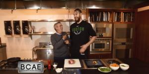 Dining Playbook: Training Camp: Celtics Center, Aron Baynes