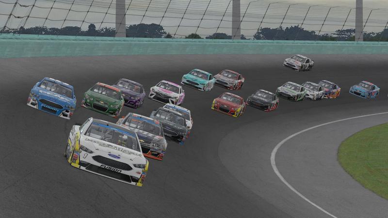 iRacing NASCAR Peak Antifreeze Series, Homestead-Miami Speedway