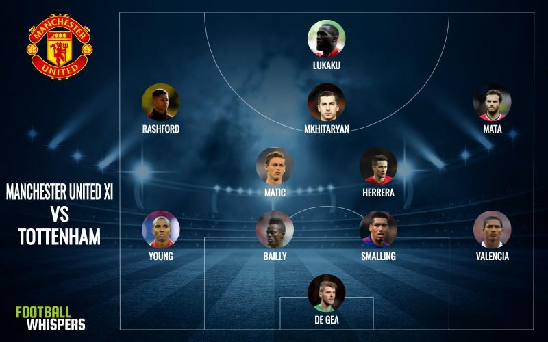 Manchester United predicted lineup vs. Tottenham