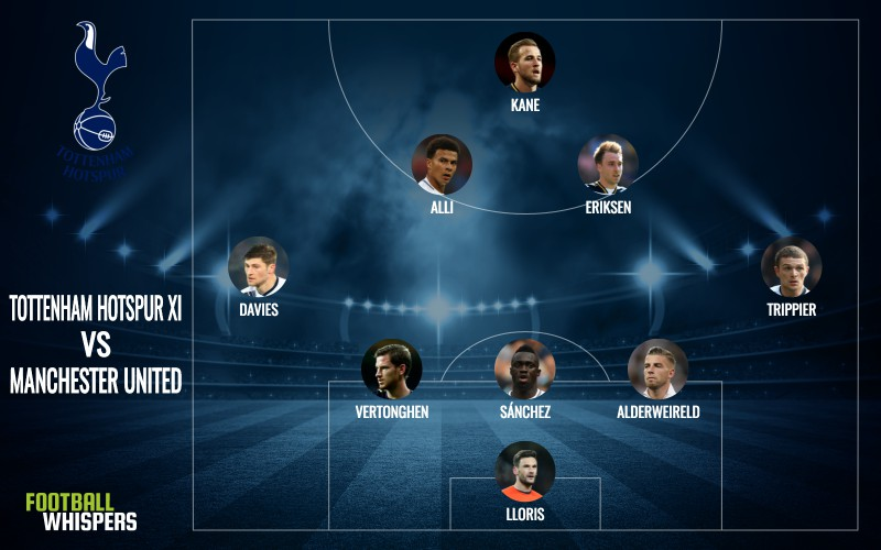 Tottenham predicted lineup vs. Manchester United