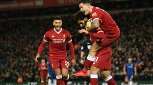 Liverpool, Chelsea Draw In Premier League On Mohammed Salah, Willian Goals