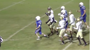 Teen With Cerebral Palsy Scores Amazing 80-Yard Touchdown In Final Game