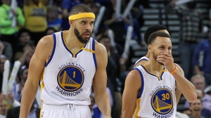While You Were Sleeping: Warriors' Stephen Curry, JaVale McGee Make Bet