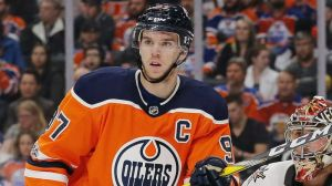 Connor McDavid Leads Oilers With Two Goals In 8-2 Rout Over Golden Knights
