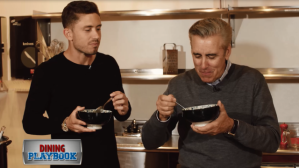 Dining Playbook: Training Camp: Chris Tierney of the New England Revolution