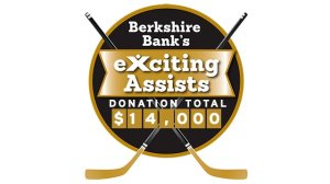 Berkshire Bank Foundation To Donate $100 For Each Bruins Assist To The Jimmy Fund