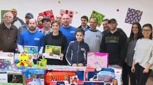 NESN Connects With Home For Little Wanderers To Bring Holiday Cheer