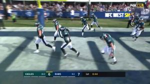 Carson Wentz, Eagles Bust Out 'Mighty Ducks' Flying V After Touchdown
