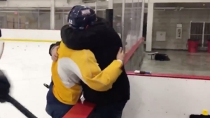 Watch Emotional Moment Bobby Butler Tells His Dad He Made Olympic Hockey Team